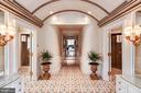 Master bath suite with domed ceiling, mosaic floor - 733 N SPRING MILL RD, VILLANOVA