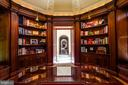 Exquisite built-ins and a beautiful gallery view - 733 N SPRING MILL RD, VILLANOVA