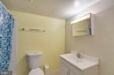 Lower Level Full Bathroom - 9083 ANDROMEDA DR, BURKE