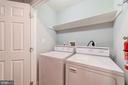 Bedroom Level Washer/Dryer - 5326 43RD ST NW, WASHINGTON
