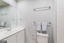 Full bath for secondary bedroom - 5326 43RD ST NW, WASHINGTON