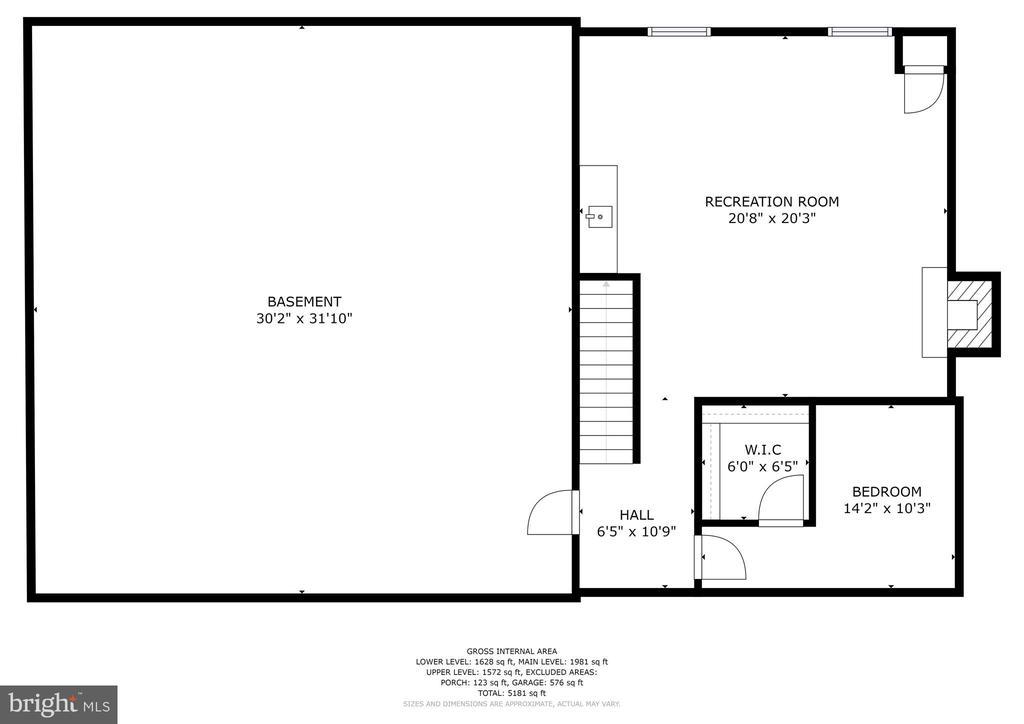 Floor Plan - 10545 CLARKSVILLE PIKE, COLUMBIA