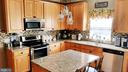 Large kitchen island too - 9355 DEVILBISS BRIDGE RD, WALKERSVILLE