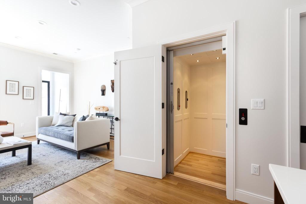 Elevator to 3 levels included in all homes - 1325 D ST SE, WASHINGTON