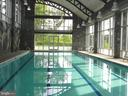 Indoor and outdoor pool - 2229 POTOMAC CLUB PKWY #32, WOODBRIDGE