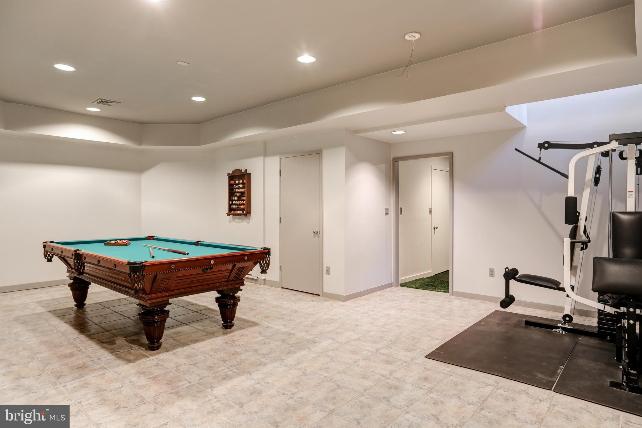 Shoot a game of pool, do some strength training...