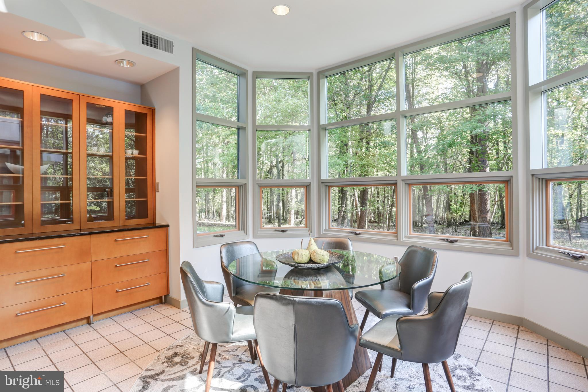 Greet the day in the east-facing breakfast room.