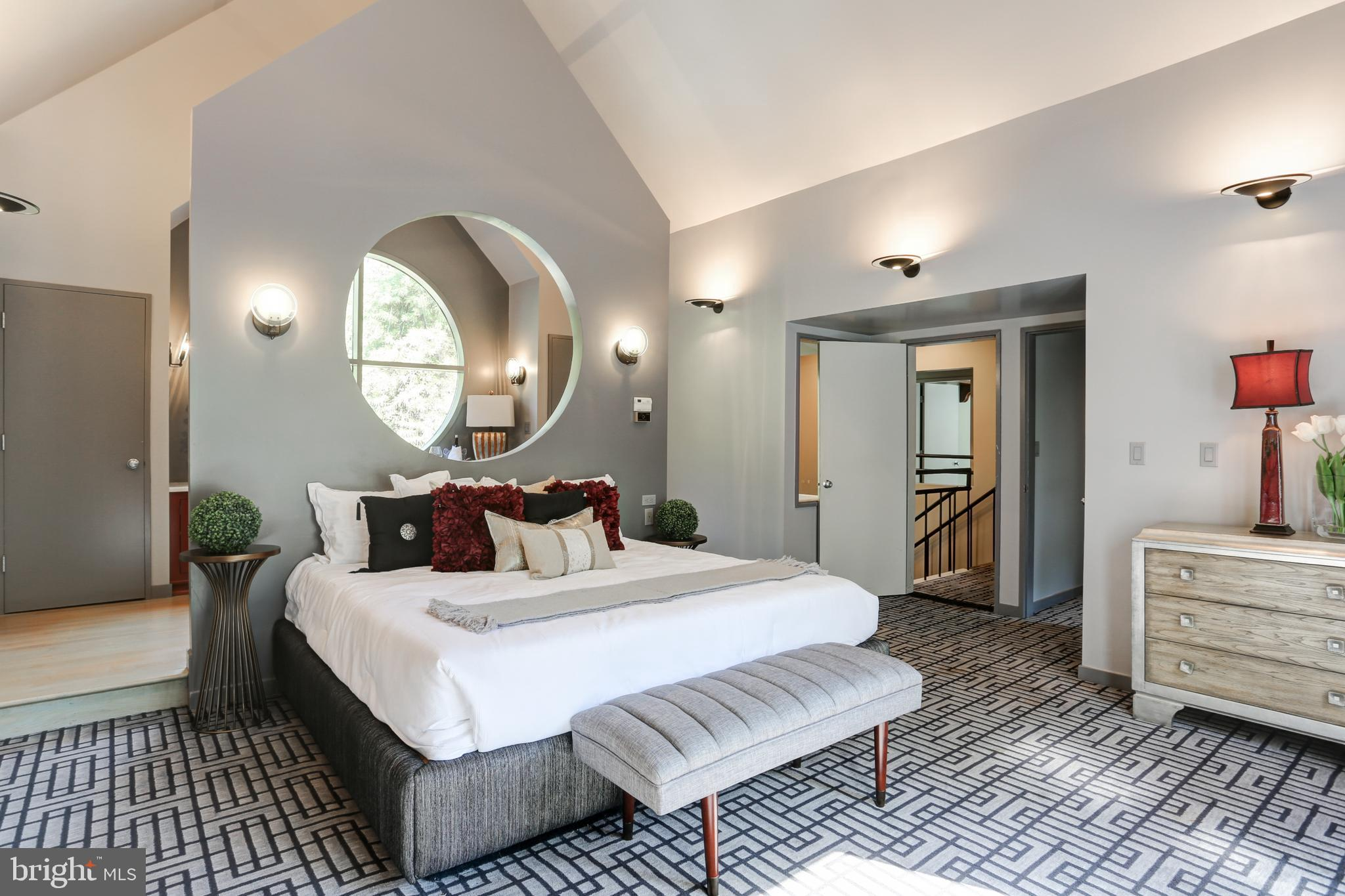 Upstairs, you will find the spacious master suite