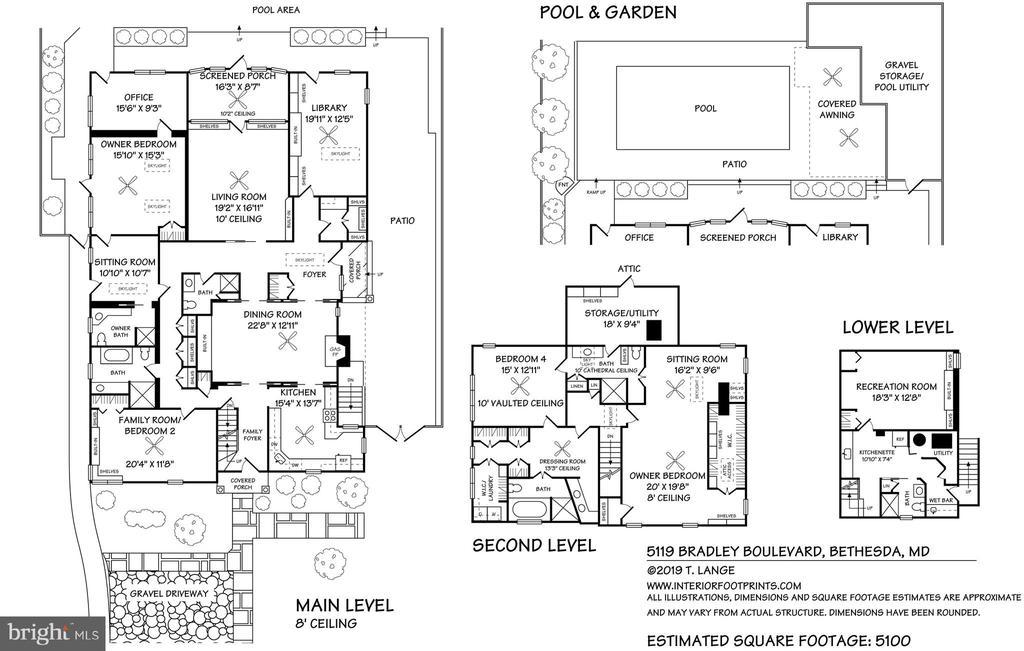 Floorplan - 5119 BRADLEY BLVD, CHEVY CHASE