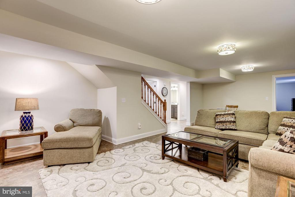 Huge rec room for everyone - 20772 GLEEDSVILLE RD GLEEDSVILLE RD, LEESBURG