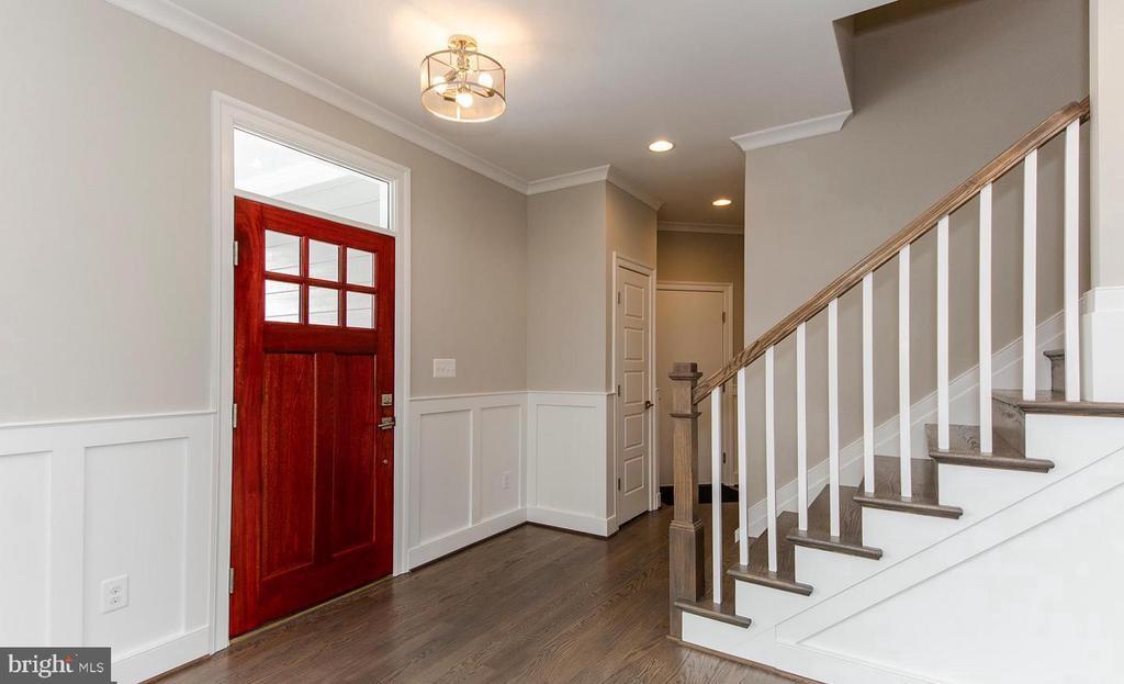 Entry Foyer (Some Pics of Similar Model Home) - 7534 LISLE AVE, FALLS CHURCH