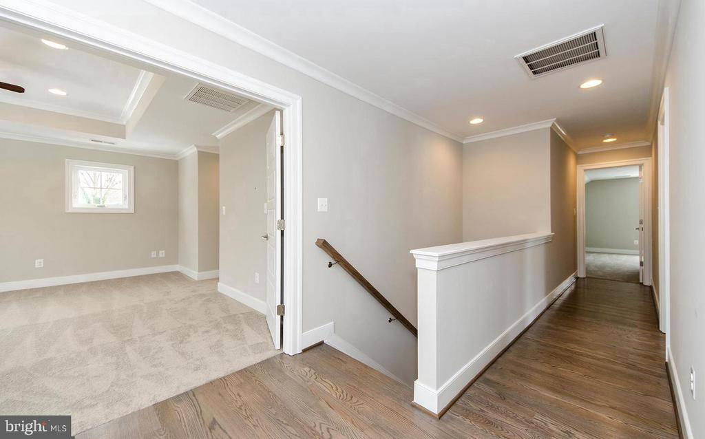 Upper Level Open Hallway (photo: similar Model) - 2013 STORM DR, FALLS CHURCH