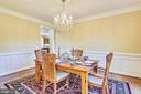 Formal Dining Room - 39278 KARLINO CT, HAMILTON