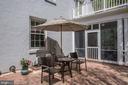 paver patio off screen porch - 3 BULLARD CIR, ROCKVILLE