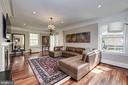 Hardwood floors, beautiful moldings throughout. - 3 BULLARD CIR, ROCKVILLE