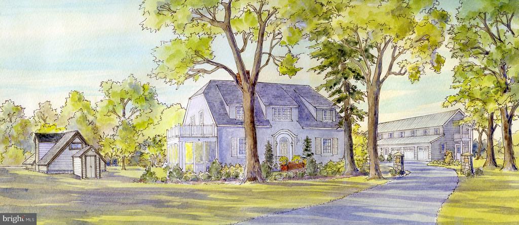 Artist  rendering. - 3 BULLARD CIR, ROCKVILLE
