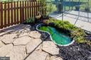 Exterior Back-Garden Pond & Two Dog Kennels - 11902 MILLBROOKE CT, MONROVIA