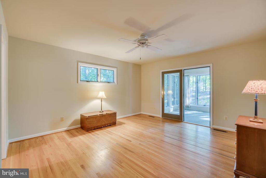 Master Suite leads out to rear enclosed porch - 103 BIRCHSIDE CIR, LOCUST GROVE