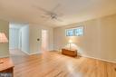 Master Bedroom with hardwood floors - 103 BIRCHSIDE CIR, LOCUST GROVE