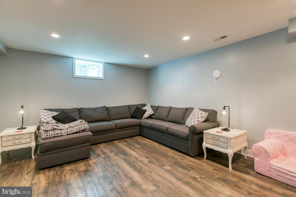 Large Basement Media Room - 640 W ROCKY RUN RD, FREDERICKSBURG