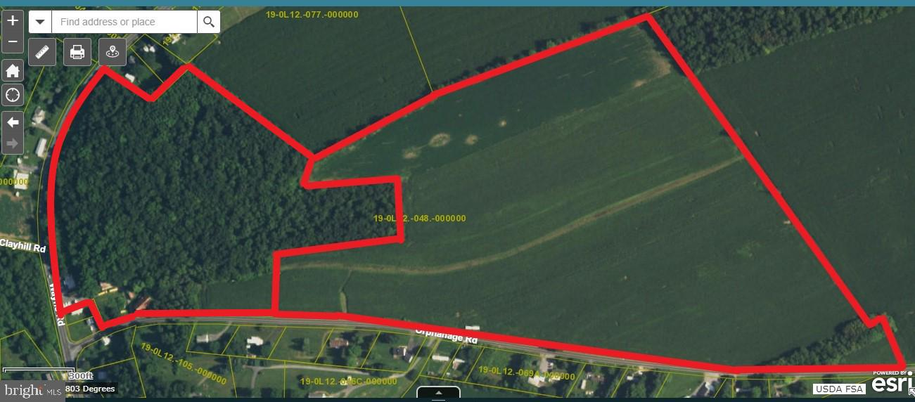 Land for Sale at Waynesboro, Pennsylvania 17268 United States