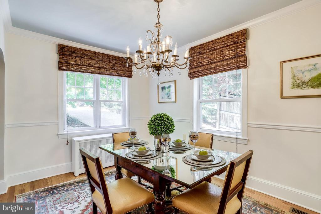 Sun lit formal dining room - 307 KENTUCKY AVE, ALEXANDRIA