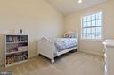 Big 2nd bedroom with vaulted ceiling - 43005 ATOKA MANOR TER, ASHBURN