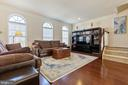 Enjoy time relaxing in the big family room - 43005 ATOKA MANOR TER, ASHBURN
