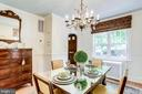 Host all the dinner parties in this beautiful room - 307 KENTUCKY AVE, ALEXANDRIA