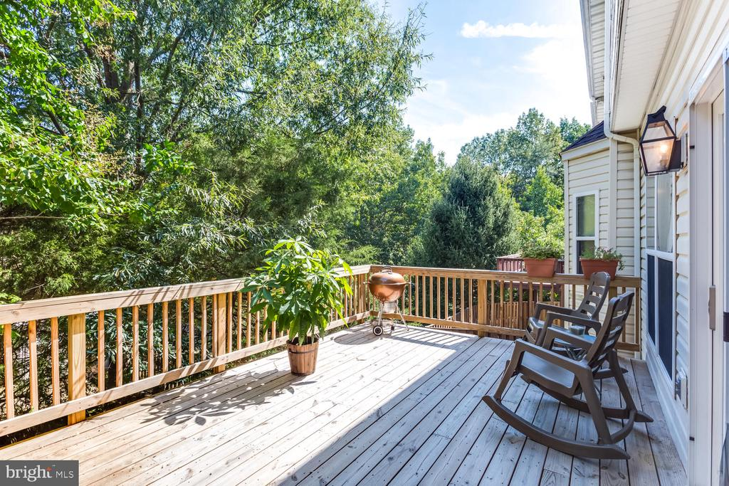 Huge deck for lots of entertaining - 6626 CHARLES GREEN SQ, ALEXANDRIA