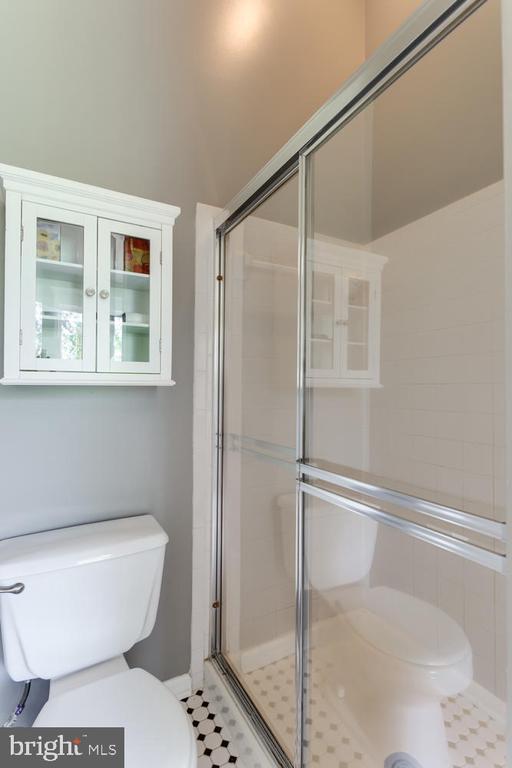Master Bath shower - 6626 CHARLES GREEN SQ, ALEXANDRIA