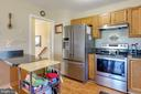 Kitchen with SS appliances - 131 SUNHIGH DR, THURMONT