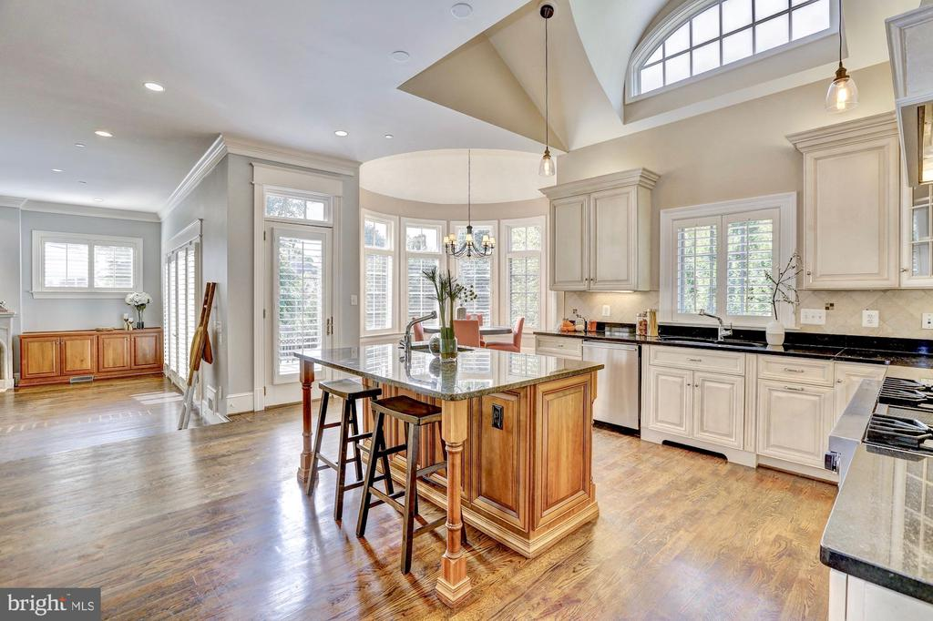 State-of-the-art gourmet kitchen - 116 E MELROSE ST, CHEVY CHASE