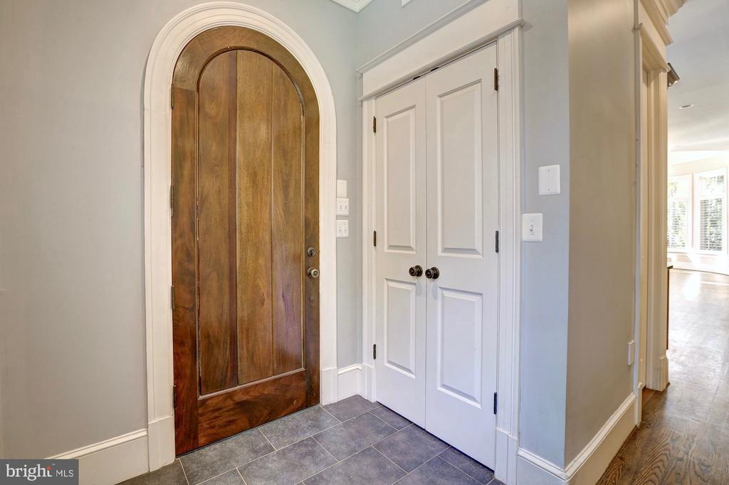 Mudroom leads to two car garage. - 116 E MELROSE ST, CHEVY CHASE