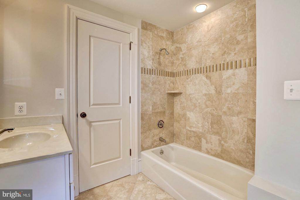 Second upper level hall bath. - 116 E MELROSE ST, CHEVY CHASE