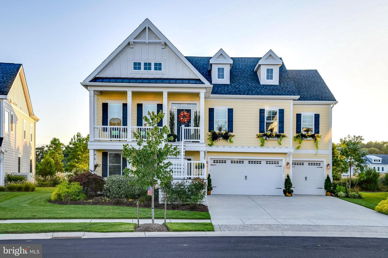 Single Family Homes pour l Vente à Selbyville, Delaware 19975 États-Unis