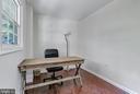 First floor den or office - 2808 VILLAGE LN, SILVER SPRING