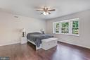 Master suite with large bay window - 2808 VILLAGE LN, SILVER SPRING