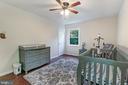 Spare bedroom on 1st level - 2808 VILLAGE LN, SILVER SPRING