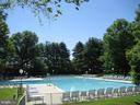 Community pool - 2808 VILLAGE LN, SILVER SPRING