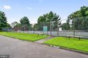 Community tennis courts - 2808 VILLAGE LN, SILVER SPRING
