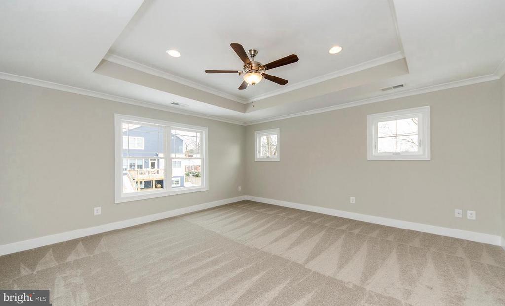 Master Bedroom w/ Trey Ceiling - 7534 LISLE AVE, FALLS CHURCH