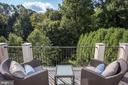 Balcony off Bedroom 3 - 2750 32ND ST NW, WASHINGTON
