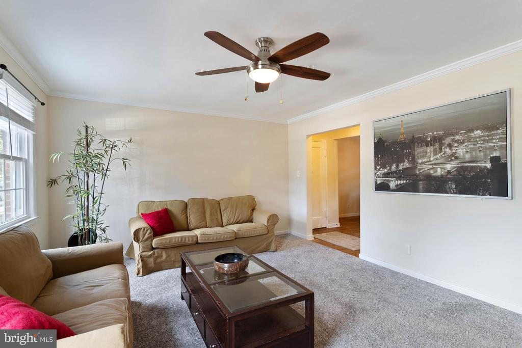 Living Room - 2214 COLSTON DR #103, SILVER SPRING