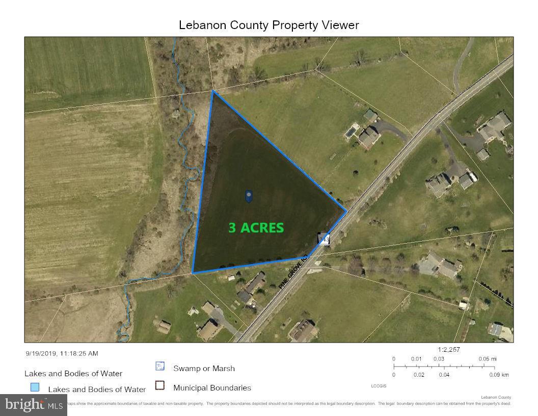 Land for Sale at Fredericksburg, Pennsylvania 17026 United States