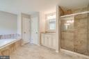 Separate shower - 6541 JEROME CT, MANASSAS