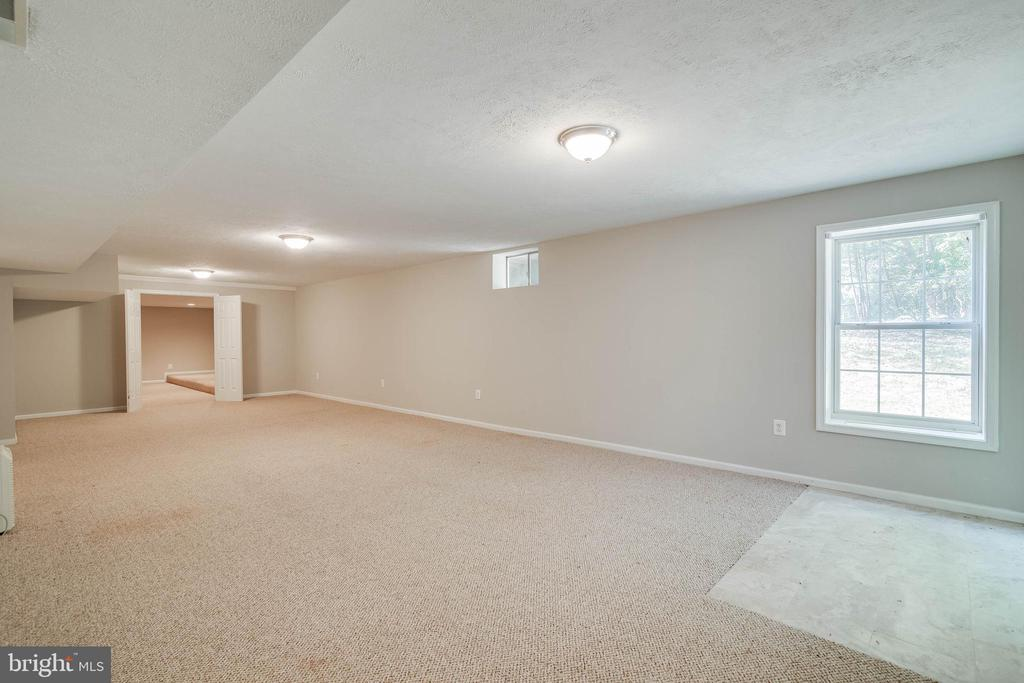 Lower level great room - 6541 JEROME CT, MANASSAS