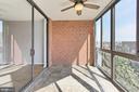 Sun Room with tree top views - 1024 N UTAH ST #816, ARLINGTON