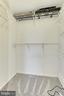 Generous walk-in closet in master bedroom - 1024 N UTAH ST #816, ARLINGTON