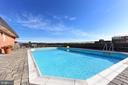 Great outdoor swimming pool - 1024 N UTAH ST #816, ARLINGTON